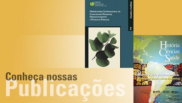 Conheça as publicações desenvolvidas em parceria com o Nethis