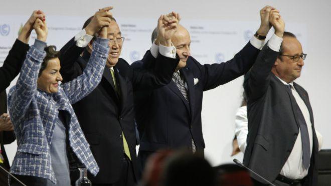 conferencia do clima paris