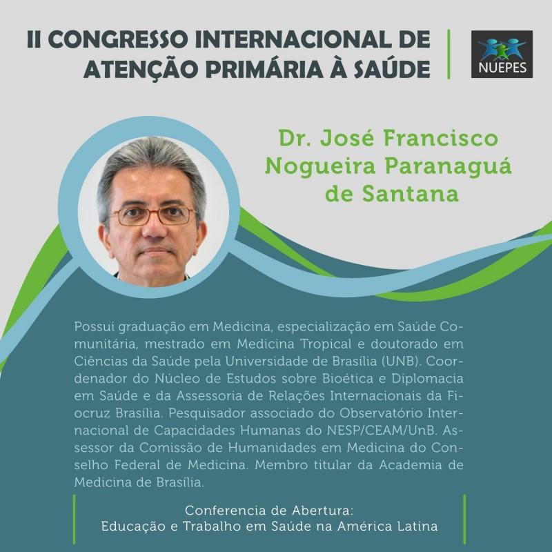 Divulgação Para II Congresso Internacional de Atenção Primária à saúde